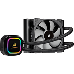 CORSAIR ICUE H60I RGB PRO XT- 120MM RADIATOR- SINGLE 120MM PWM FAN- SOFTWARE CONTROL- LIQUID CPU COOLER