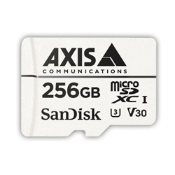 AXIS SURVEILLANCE CARD 256 GB MICROSDXC CARD F/ VIDEO SURVEILL