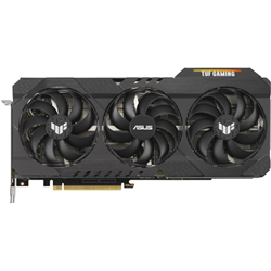 ASUS NVIDIA GEFORCE RTX 3090 24GB GDDR6X GAMING GRAPHICS CARD PCB PICTURED- 12 DRAM CHIPS ON THE FRONT AND 12 ON THE BACK