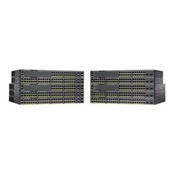 CISCO (WS-C2960X-24PD-L) CATALYST 2960-X 24 GIGE POE 370W- 2 X 10G SFP+- LAN BASE