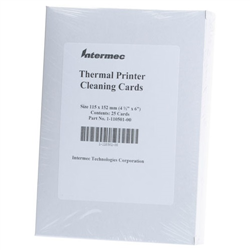 HONEYWELL CLEANING CARD PRINTER 25 PK 4IN