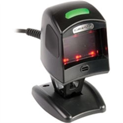DATALGIC SCANNING MAGELLAN 1100I EZ BLACK NO BUTTON KBW STAND INCLUDES PS-2 CABLE 8-0741-17