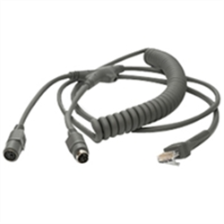 ZEBRA CABLE DATA SCANNER KBW 2.8M CLD