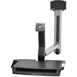 ERGOTRON SIT-STAND STYLEVIEW COMBO WORKSURFACE