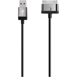 MIXITUP 30-PIN CHARGE/SYNC CABLE 1.2M - BLACK