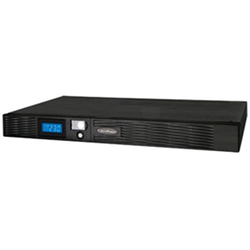 PRO RACK SERIES LCD 1000VA/670W 1U LINE INTERACTIVE UPS - 4 6V/9AH- 3 YRS ADV. REPLACEMENT WTY 2 YRS ON INTERNAL BATTERIES (430W X 44H X 490D) - INCL RACKMOUNT EARS