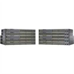 CISCO (WS-C2960X-48FPS-L) CATALYST 2960-X 48 GIGE POE 740W- 4 X 1G SFP- LAN BASE