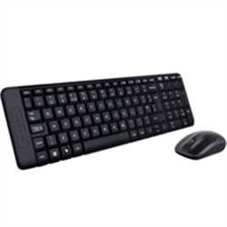 LOGITECH MK220 WIRELESS KEYBOARD AND MOUSE COMBO- 2.4GHZ US B RECEIVER - 3YR WTY