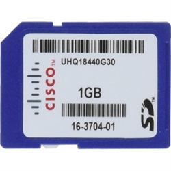 CISCO (SD-IE-1GB=) IE 1GB SD MEMORY CARD FOR IE2000- IE3010