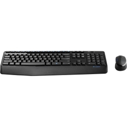 LOGITECH MK345 WIRELESS KEYBOARD AND MOUSE COMBO- 2.4GHZ US B RECEIVER - 1YR WTY