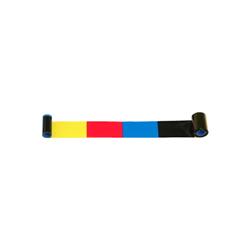 ZEBRA RIBBON ZXP8/ZXP9 COL YMCK 4 PANEL BK 625/IM