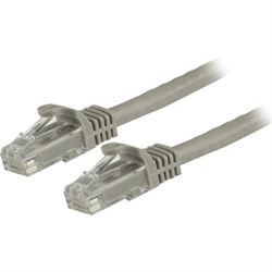 3M GRAY GIGABIT SNAGLESS RJ45 UTP CAT6 PATCH CABLE - 3 M PATCH CORD - ETHERNET PATCH CABLE - RJ45 MALE TO MALE CAT 6 CABLE