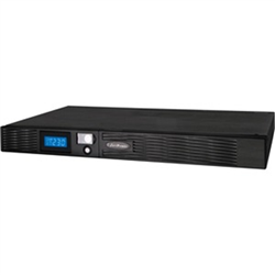 PRO RACK SERIES LCD 750VA/500W 1U LINE INTERACTIVE UPS - 4 6V/9AH - 6X IEC 320 C13-3 YRS ADV. REPLACEMENT WTY 2 YRS ON INT BATTERIES (430W X 44H X 490D) - INCL RACKMOUNT EARS