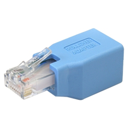 CISCO CONSOLE ROLLOVER ADAPTER FOR RJ45 ETHERNET CABLE M/F