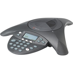 POLYCOM-SOUNDSTATION2-(ANALOG)-CONFERENCE-PHONE-WITH-DISPLAY.-NON-EXPANDABLE.-INCLUDES-220