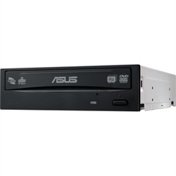 ASUS DRW-24D5MT/BLK/G/AS/P2G BLACK INTERNAL RETAIL PACK SATA DVD BURNER. M-DISC 24X DVD WRITING SPEED DUAL LAYER SATA INTERFACE