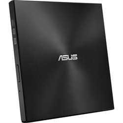 ASUS SDRW-08U7M-U/BLK/G/AS/P2G EXTERNAL SLIM DVD BURNER. 8X DVD WRITING SPEED M-DISC READ AND WRITE USB 2.0 INTERFACE