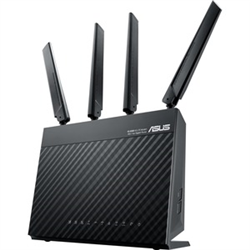 ASUS AC1900 WIRELESS DUAL BAND  4G LTE ROUTER-GBE(4)-USB 3.0(1)- SIM SLOT(1)-ANT(2)-3YR WT