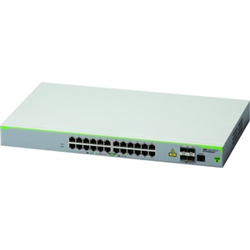 24 PORT 10/100T MANAGED ACCESS SWITCH WITH 4 SFP UPLINKS