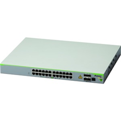 24 PORT 10/100T POE MANAGED ACCESS SWITCH WITH 4 SFP UPLINKS