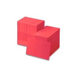 ZEBRA CARDS PVC 30MIL 500/BOX RED