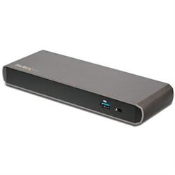STARTECH.COM THUNDERBOLT3 4K DOCK- DUAL DISPLAY- DP- USB(2)- USB-C- TB3- RJ45- 85W-  3YR