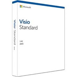 MICROSOFT VISIO STANDARD 2019 - RETAIL BOX