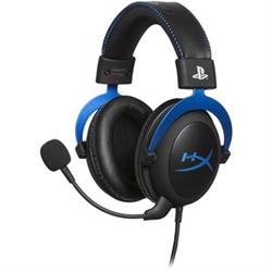 HYPERX CLOUD BLUE GAMING HEADSET - PLAYSTATION OFFICIAL LICENSED FOR PS4