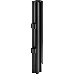 ATDEC 400MM POST BLACK  COMPATIBLE WITH AMW-  MODULAR MOUNTS 10YR WTY