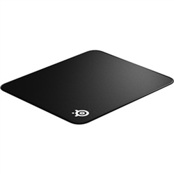 QCK EDGE - LARGE CLOTH GAMING MOUSE PAD 450 MM X 400 MM X 2 MM STITCHED EDGES FOR INCREASED DURABILITY