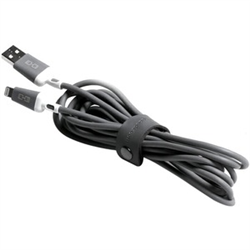 STM ABLE CABLE USB-A TO LIGHTNING (3.0M) - GREY