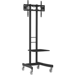 ATDEC MOBILE CART FOR MEDIUM TO HEAVY DISPLAYS UP TO 50KG- H/ADJ- VESA UP TO 600X400- 10 Y
