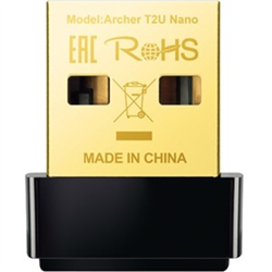 AC600 NANO WI-FI USB ADAPTER 433MBPS AT 5GHZ + 200MBPS AT 2.4GHZ USB 2.0