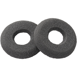 PLANTRONICS SPARE EAR CUSHION (QTY 2)- DOUGHNUT- FOAM- BLACK - SUPRAPLUS HW251 / HW261