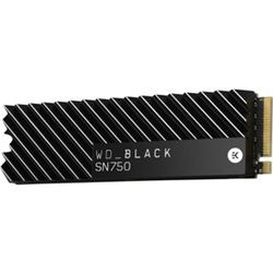 WD 2TB BLK NVME SSD WI HEATSINK M.2 PCIE GEN3 5Y WARRANTY SN750