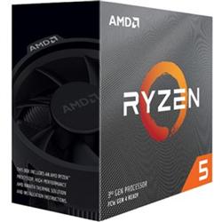 AMD (3600) RYZEN 5- CORE(6) 3.6GHZ- THREADS(12)- AM4-65W- CACHE(32MB L3)-PCIE 4.0/DDR4-3YR