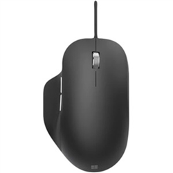 MICROSOFT WIRED ERGONOMIC MOUSE - RETAIL BOX (BLACK)