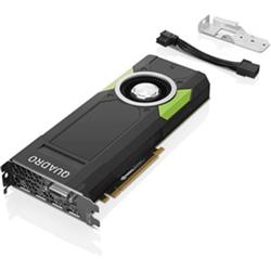 THINKSTATION NVIDIA QUADRO P5000 DPX4 DVI-D X1 16GB GDDR5 GRAPHICS CARD WITH SHORT EXTENDER