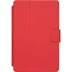 TARGUS 7 -8.5 INCH SAFEFIT ROTATING UNIVERSAL CASE (RED)