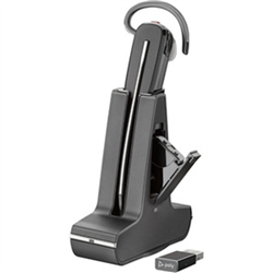 PLANTRONICS SAVI UC S8245 CONVERTIBLE WIRELESS DECT- HS BATTERY- USB-A- PC