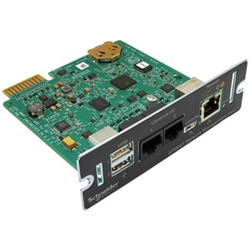 UPS NETWORK MGMT CARD WITH POWERCHUTE NETWORK & ENIVIRONMENTAL MNTRG SHUTDOWN