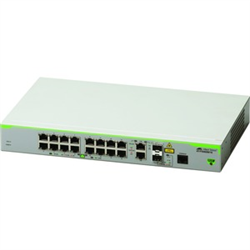 16 PORT 10/100T MANAGED ACCESS SWITCH WITH 2 SFP UPLINKS