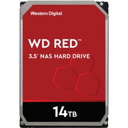 WD RED NAS HARD DRIVE- 14TB- SATA 6 GB/S- 5400-RPM- 3.5IN- 256MB CACHE- 3 YEARS