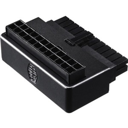 COOLER MASTER ATX 24 PIN 90 DEGREE ADAPTER WITHOUT CAPACITORS- PLUG AND PLAY