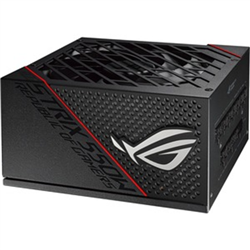 ROG-STRIX-550G 550W 80PLUS GOLD CERTIFICATION ROG HEATSINKS COVER CRITICAL COMPONENTS DELIVERING LOWER TEMPERATURES AND REDUCED NOISE DUAL BALL FAN BEARINGS FULLY MODULAR CABLES 10 YEAR WARRANTY