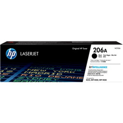 HP 206A BLACK TONER - APPROX 1.35K PAGES - FOR M283- M255 PRINTERS