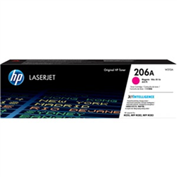 HP 206A MAGENTA TONER - APPROX 1.25K PAGES - FOR M283- M255 PRINTERS