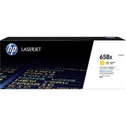 HP 658X YELLOW LASERJET TONER CARTRIDGE - HIGH YIELD - M751 COMPATIBLE
