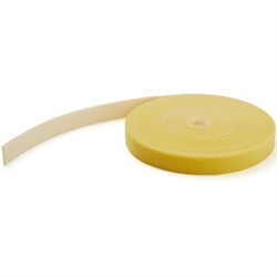 HOOK AND LOOP TAPE - 15 M - REUSABLE ADJUSTABLE CABLE TIES - YELLOW (HKLP50YW)