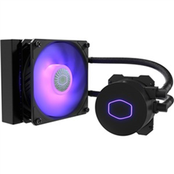 COOLERMASTER MASTERLIQUID LITE ML120L V2 RGB CPU COOLER- RGB 1  X120MM RGB FAN 120MM RADIA